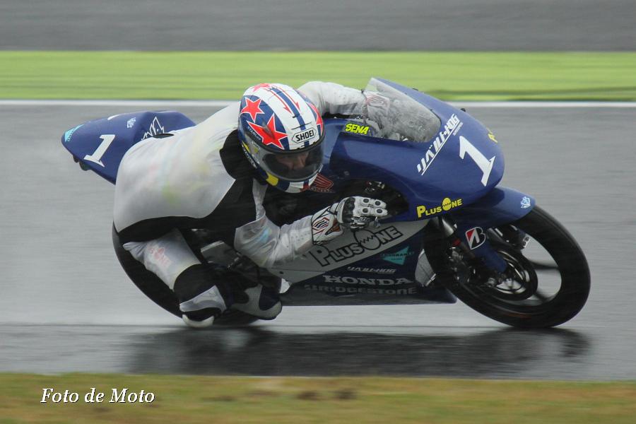 J-GP3 #1 リベルトPLUSONE&ENDURANCE 山田 誓己 Yamada Sena Honda NSF250R