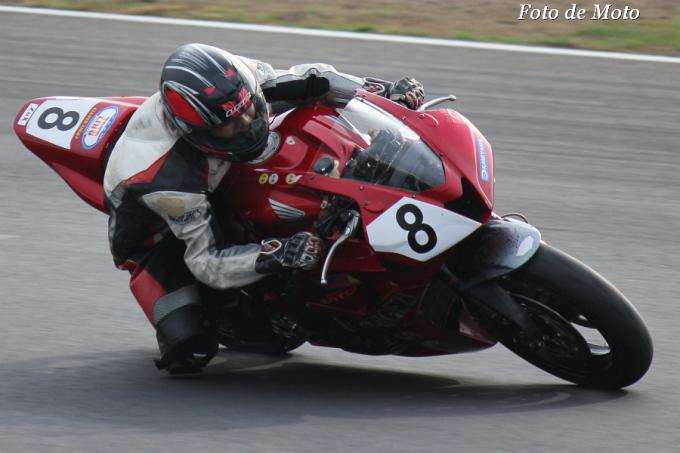 ST600 #8 HIGEZI&ZATO2号車 山口 茂孝 Honda CBR600RR