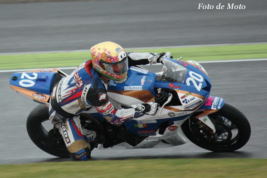 ST600 #20 TEAMしんたろうwithKRT 中山 真太郎 Nakayama Shintaro Honda CBR600RR