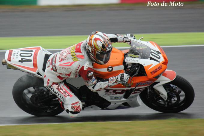 ST600 #104 TOHORacing pwd by モリワキ 國川 浩道 Honda CBR600RR