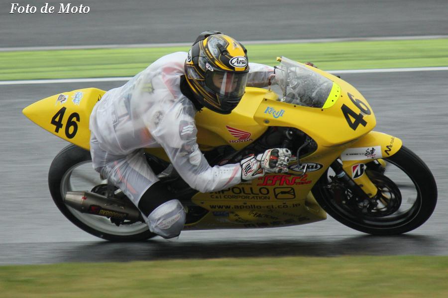 J-GP3 #46 TEAMけんけんwithアポロ 長尾 健史 Nagao Kenji Honda NSF250R