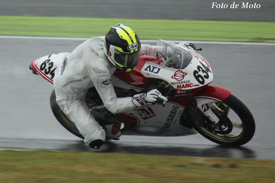 J-GP3 #634 MuSASHi RTハルクプロ 水野 涼 Honda NSF250R