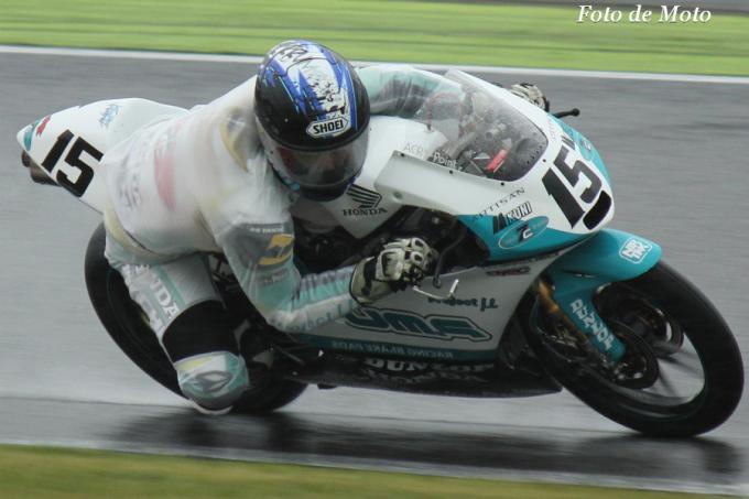 J-GP3 #15  P.MU 7C HARC 山元 聖 Honda NSF250R