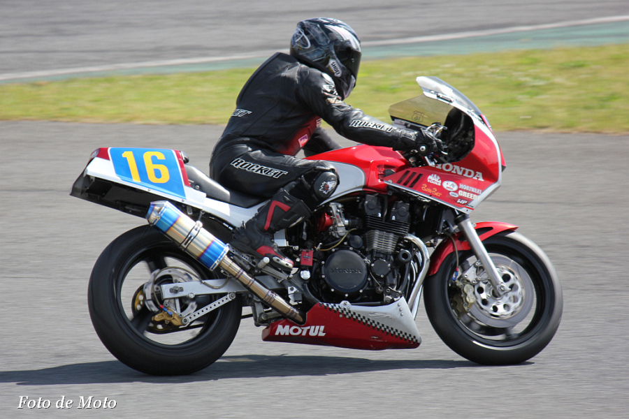 ZERO-1 #16 南風&琉走会 赤嶺 正弘 Honda CBX750F