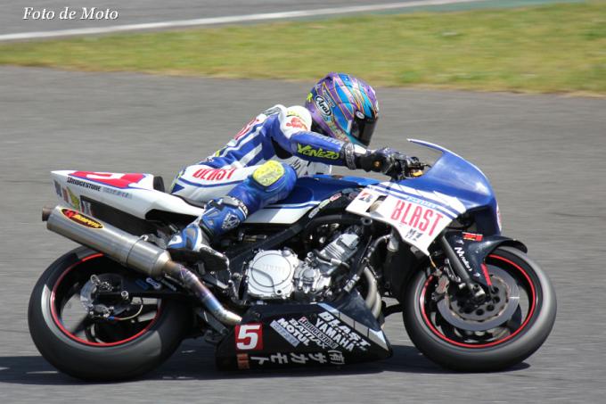F-ZERO #5 ブラストRと火の玉R!!&BDR 浅見 隆 Yamaha FZ750