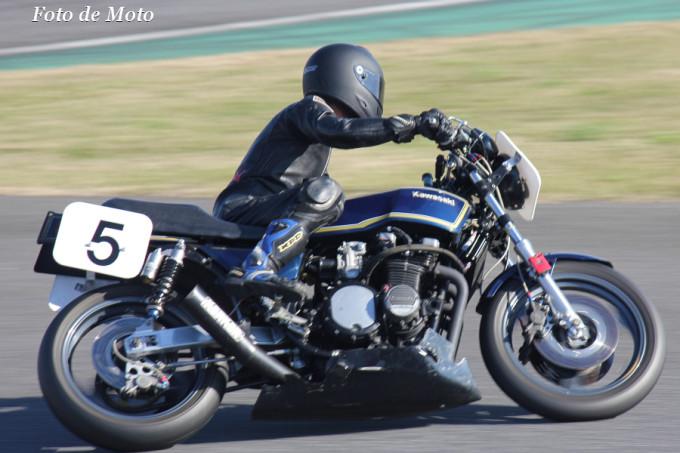 D.O.B.A.R.-1 #5 ファントム&ロバ牧場えつお組 粟津 善男 Kawasaki Z750FX