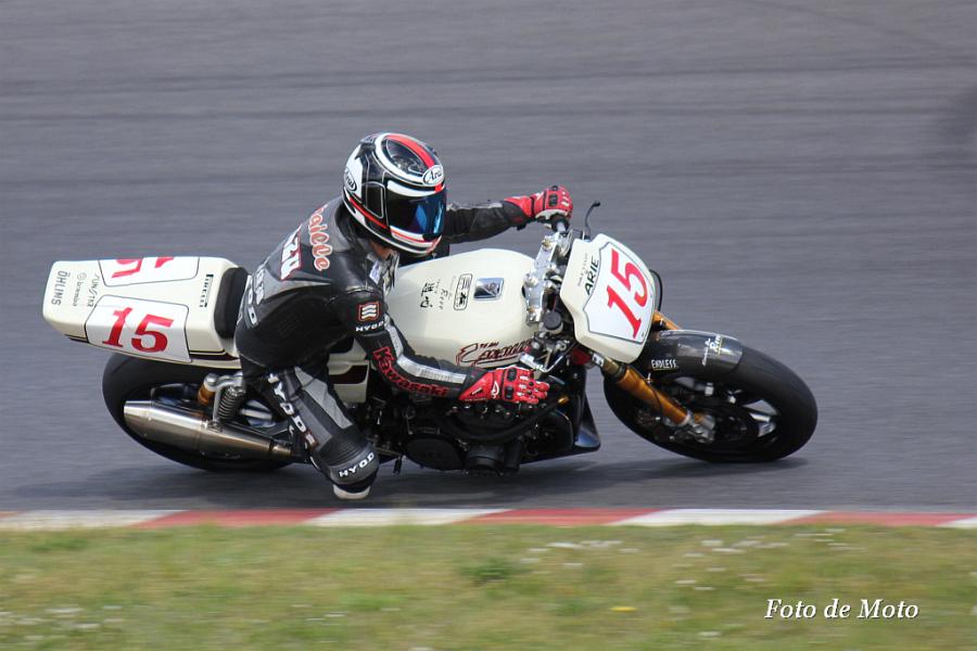 Monster Evolution #15 Team★Canaille 馬場 和久 KawasakiZ750FX-I
