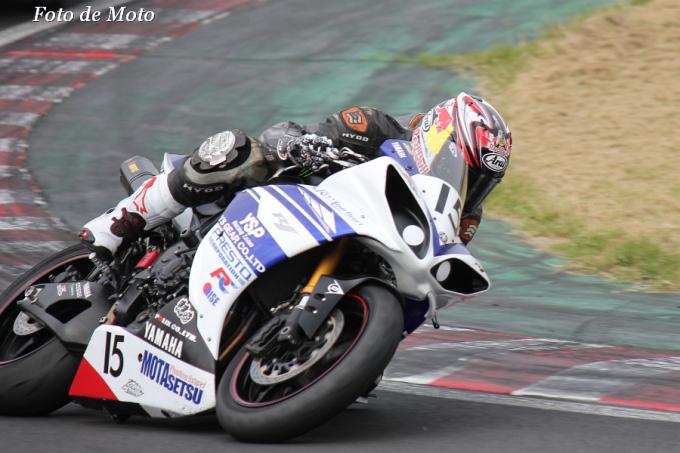 TC-F #15 ファイヤーガレージ&MSDG 真々田 雄一 Yamaha YZF-R1
