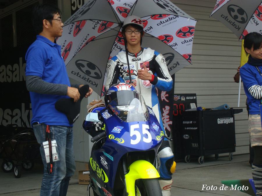 J-GP3 #55 FLEX RacingTeam 船田 俊希 Honda NSF250R