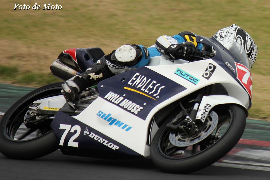 J-GP3 #72 WILDHOUSE TEAMSHANTI ENDLESS 布施 元紀 Honda NSF250R