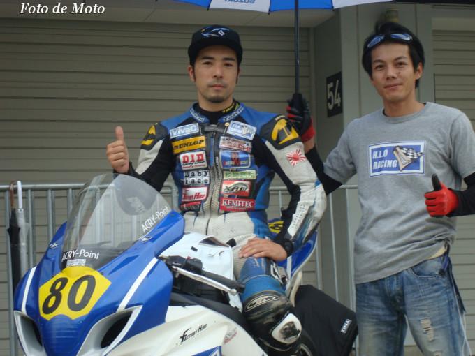 JSB1000 #80 H.L.O RACING 樋口 耕太 SUZUKI GSX-R1000L3