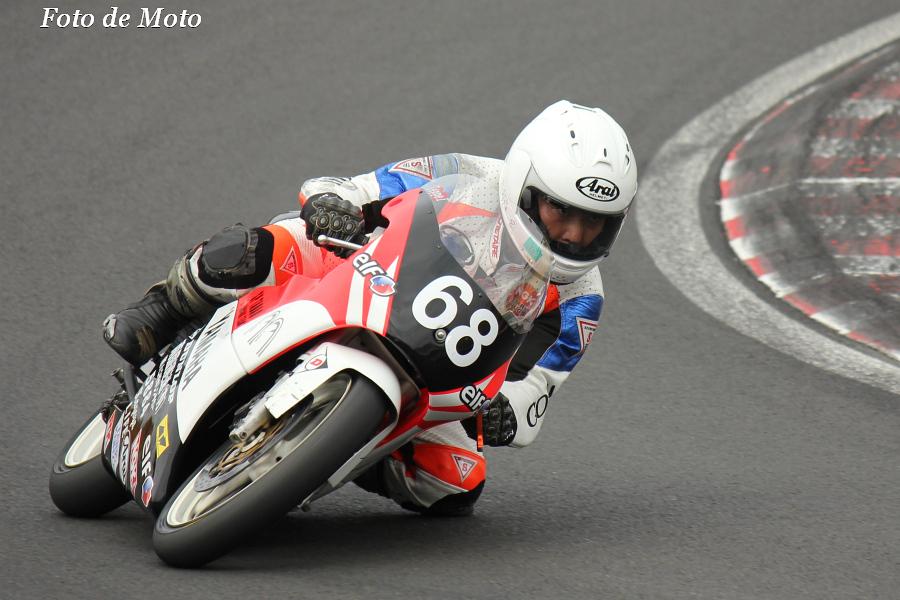J-GP3 #68 マツエセブン with ナゴ 五十嵐 進 Yamaha TZ125