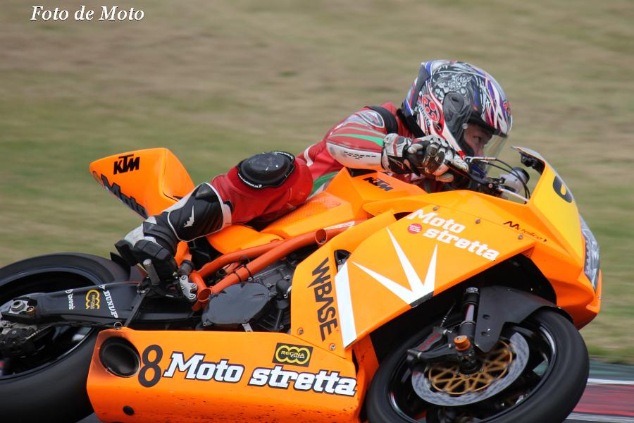 JSB(N) #8 モトストレッタ レーシング 飯田 朋大 KTM 1190RC8R