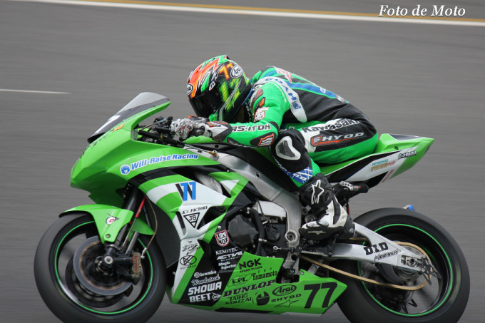 J-GP2 #77 Will-Raise Racing RS-ITOH 井筒 仁康 Izutsu Hitoyasu ZX-6R