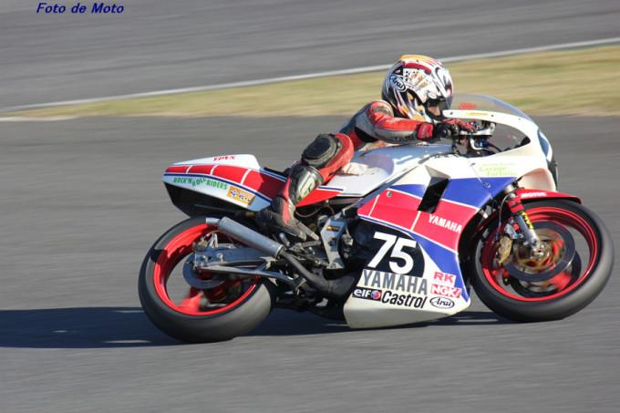 ZERO-4 #75 ガレージトータスCafeロマン 亀田 勉 Yamaha TZR250