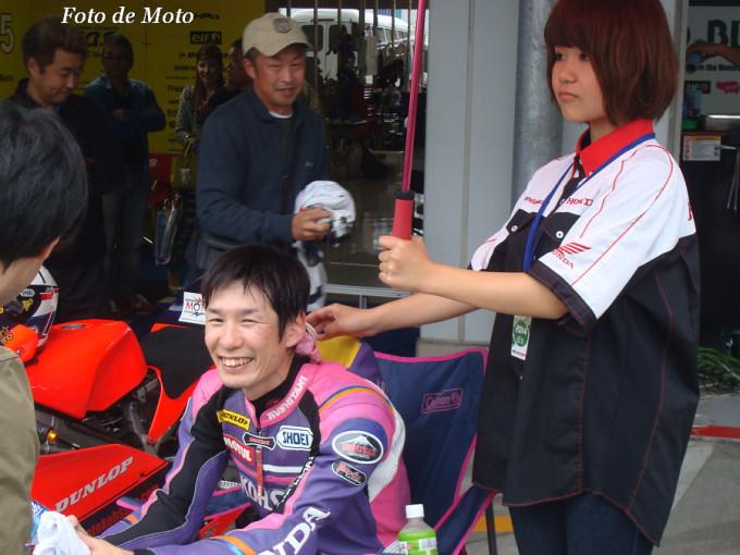 J-GP3 #40  チーム KOHSAKA 川瀬 啓一郎 Kawase Keiichiro Honda NSF250R