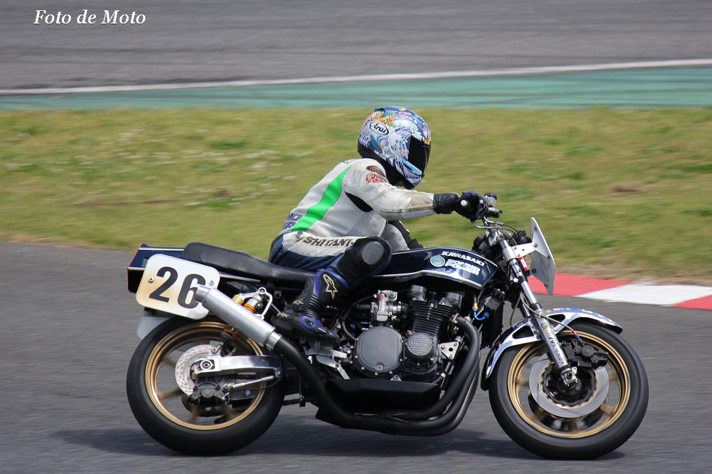 Monster #26 SOUND & POWER 毛塚 明洋 Kawasaki Z750FX