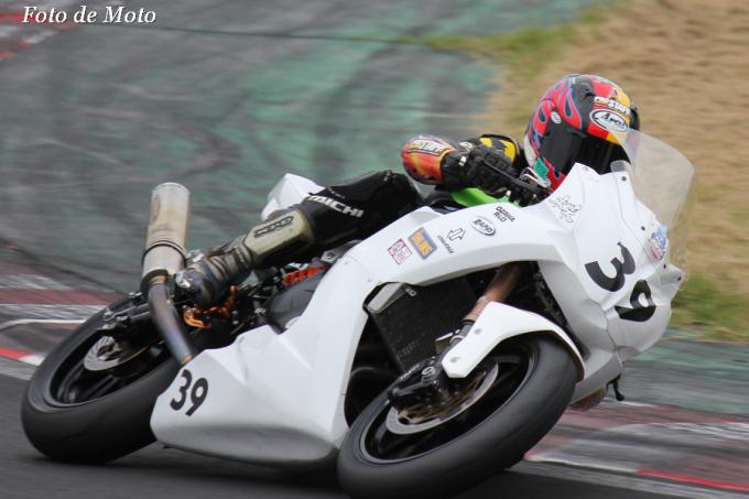 TC400 #39 TEAM MIRAI+松田塾 岸本 吉広 Kawasaki Ninja650