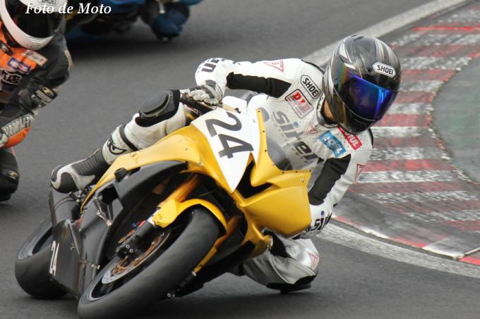 ST600 #24 siren-motorcycles 小松 世志男 Yamaha YZF-R6