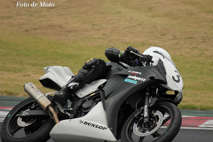 CBR250R #37 TEAMSHANTI 1/4 工藤 達矢 Honda CBR250R