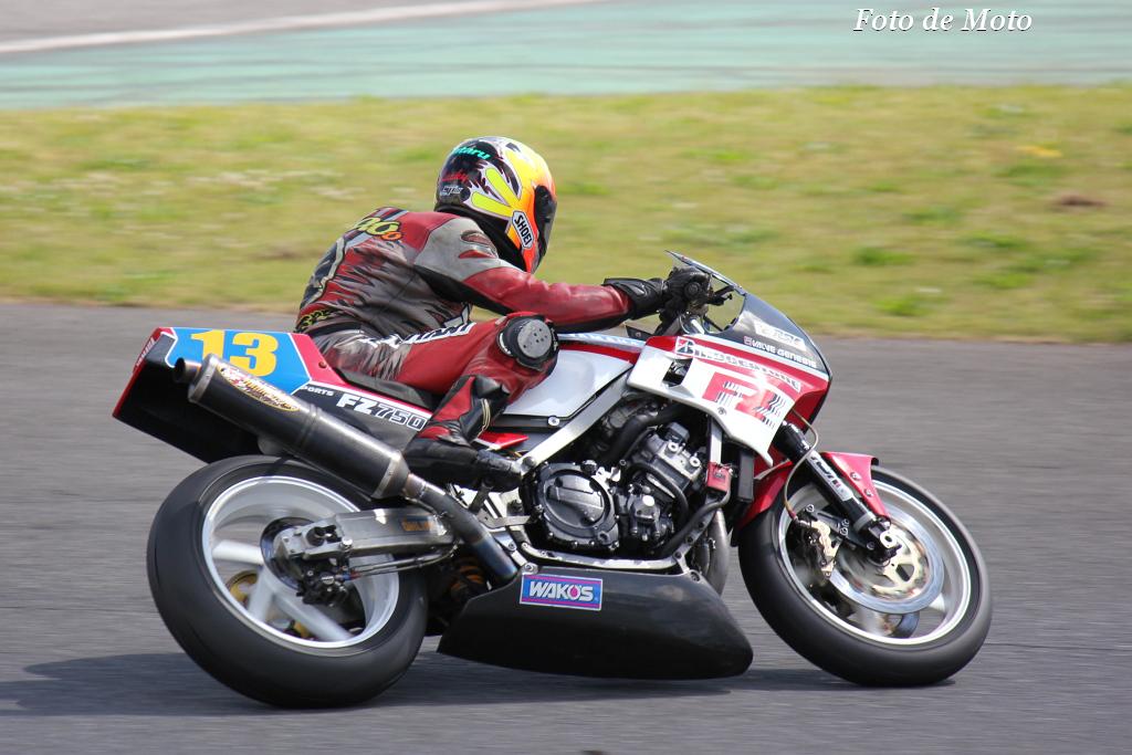 ZERO-1 #13 RSカタクラ&栗原電器 栗原 貞夫 Yamaha FZ750