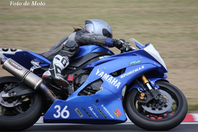 ST600 #36 自転車に月を乗せ僕は飛ぶのさ 黒田 秀治 Yamaha YZF-R6