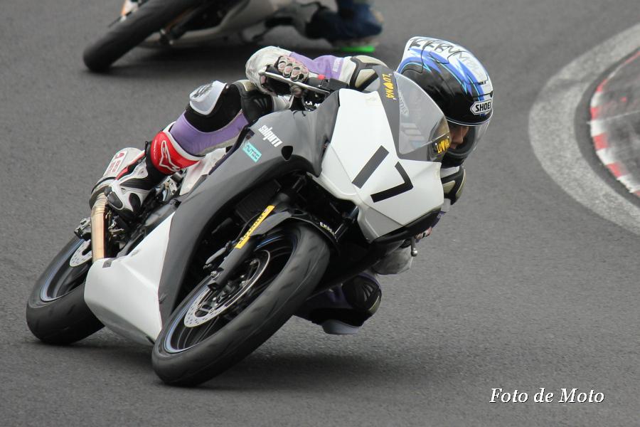 CBR250R #17 TEAMSHANTI 1/4 平野 ルナ Honda CBR250R