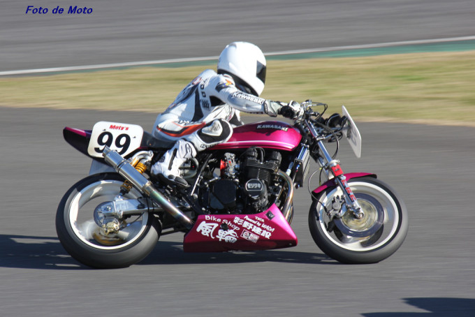 D.O.B.A.R-1 #99 BS風輪+KBR 松崎 哲也 Kawasaki-Z650