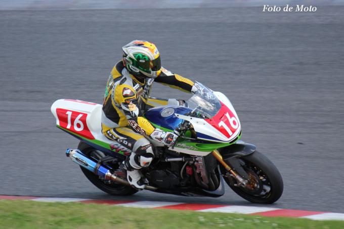 F-ZERO #16 カエデモーターサイクル NMS 中北 浩史 Kawasaki GPZ1100