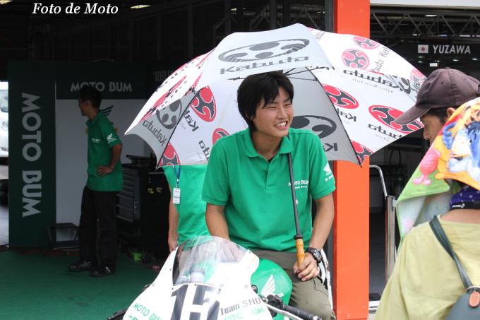 J-GP2 #15 MOTOBUM+SAI 中村 豊 Nakamura Yutaka CBR600RR