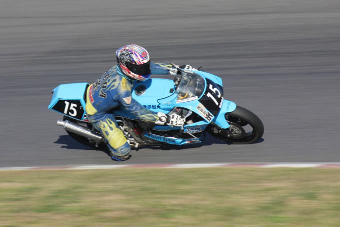ZERO-4 #15 ポイントゼロ我夢超大&ブルーC 大根田 隆 Yamaha FZR400R