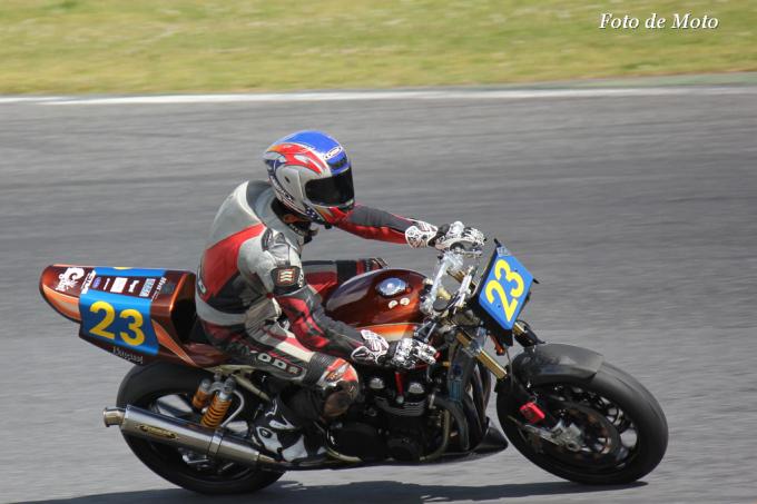 ZERO-1 #23 Bagus!レーシング 大津 岳 Kawasaki ZEPHYR750