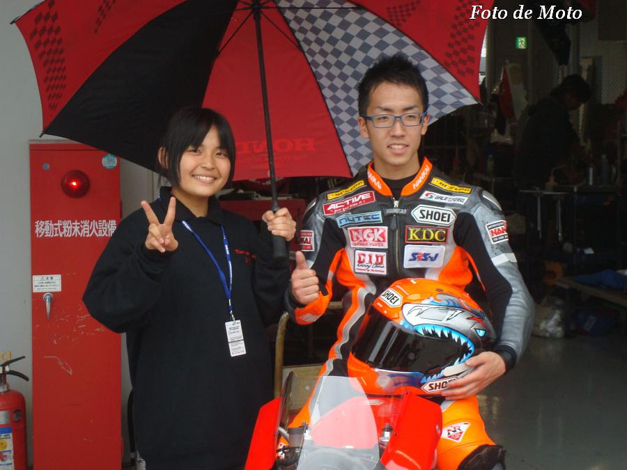 J-GP3 #66 DOGFISHオーテック・鈴鹿 大内田 拓 Honda NSF250R