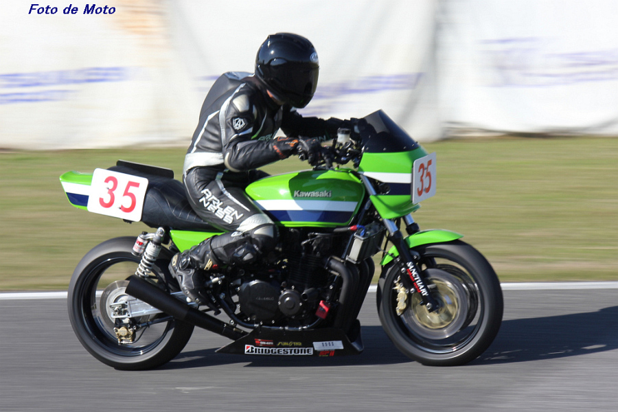 MONSTER Evo. #35 サンクチャトウキョウウエストOCM 佐藤 英幸 Kawasaki Z1000R