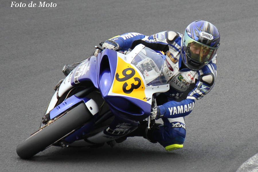 JSB(N) #93 MAZI SPEED α 鈴木 一史 Yamaha YZF-R1