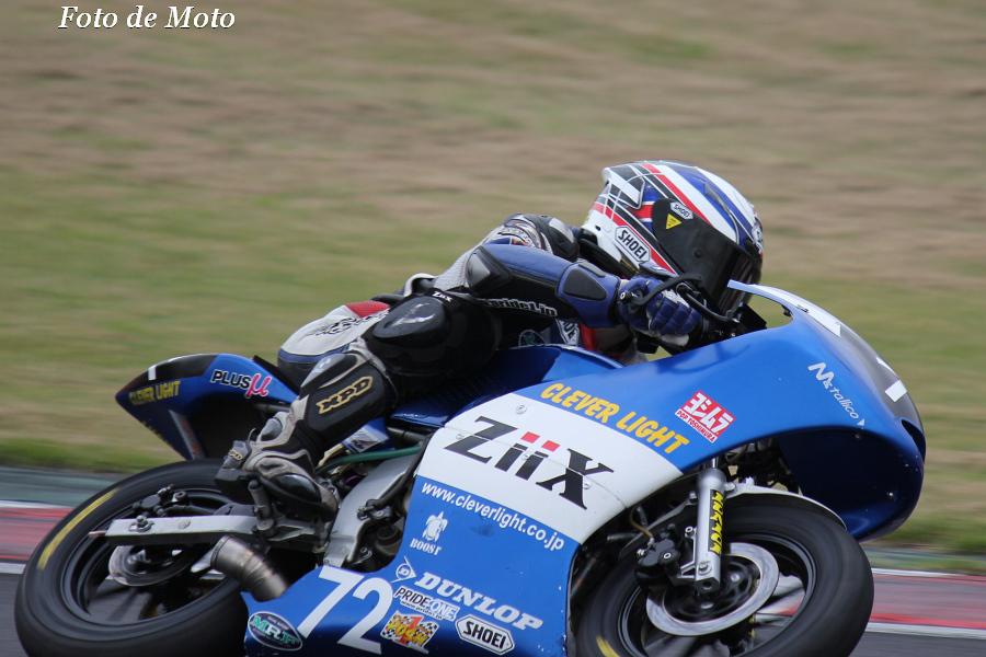 TC-mini OPEN #72 クレバーライトレーシングチーム 髙橋 孝浩 Honda NSF