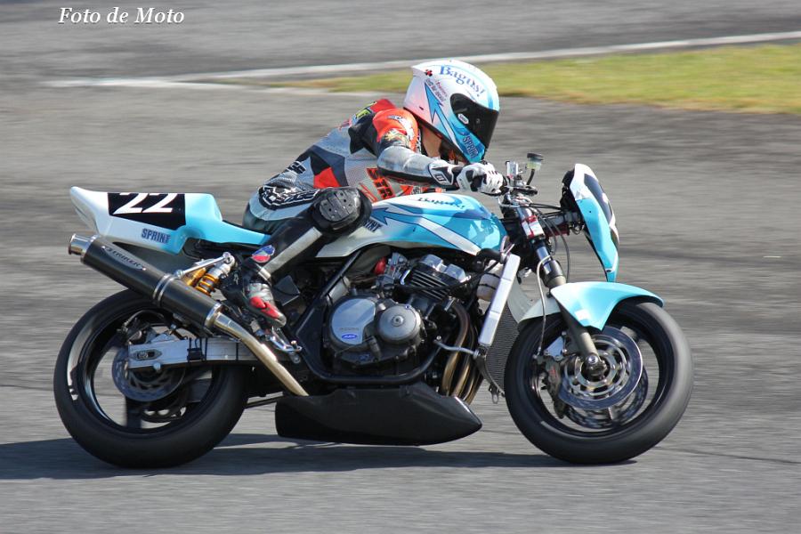 ZERO-4 #22 SPRINT&Bagus! 筒井 健裕 Honda CB400SF