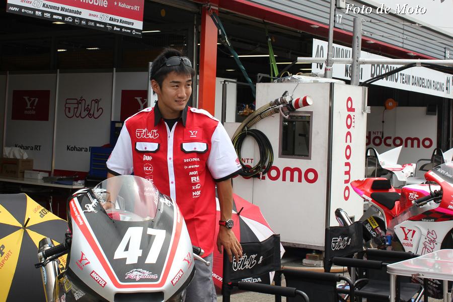 J-GP2 #47 テルル&EM★KoharaRT 渡辺 一馬 Watanabe Kazuma KALEX