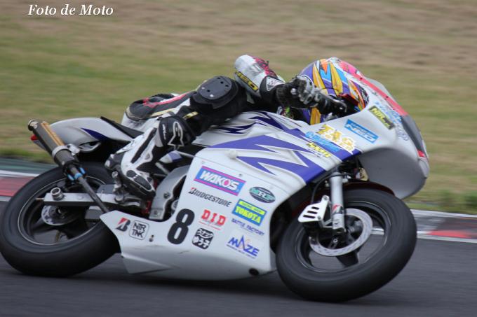TC-mini OPEN #8 Rけろたん山田組+NTR+新潟 山田 徹 Honda NSR80