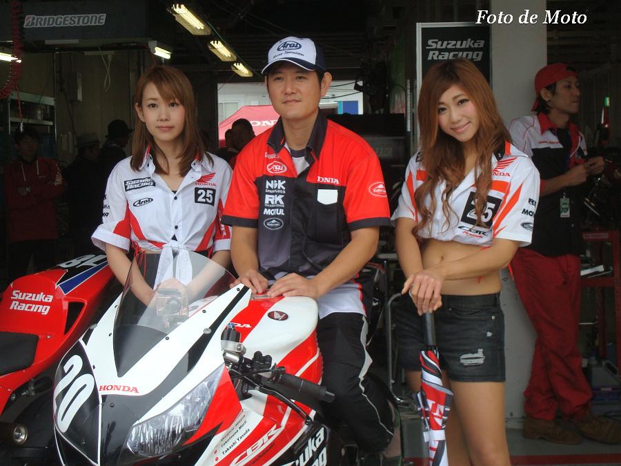 JSB1000 #20 Honda鈴鹿レーシングチーム 安田 毅史 Yasuda Takashi Honda CBR1000RR