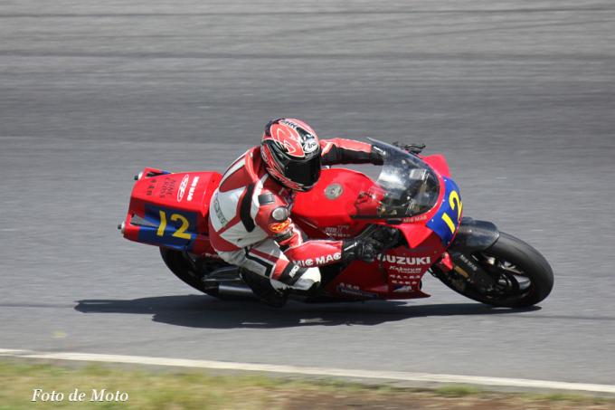 ZERO-1 #12 モトクラッチ&WAKO'S 米山 健一 Suzuki RG400Γ