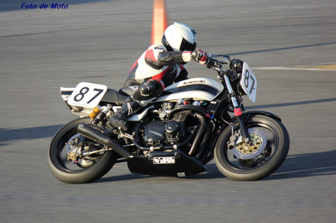 MONSTER #87 TEAM ZAPPER 井坂 充寿 Kawasaki KZ1000J