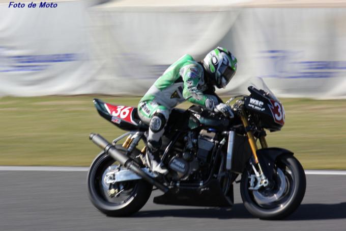 HERCULES #36 エフスポーツ 岩崎 哲朗 Kawasaki ZRX1200