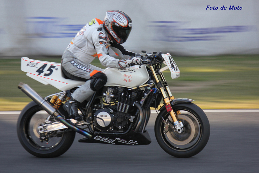 SUPER MONSTER Evo. #45 モーターキッズ柳沢 宮澤 良之 Yamaha XJR1300