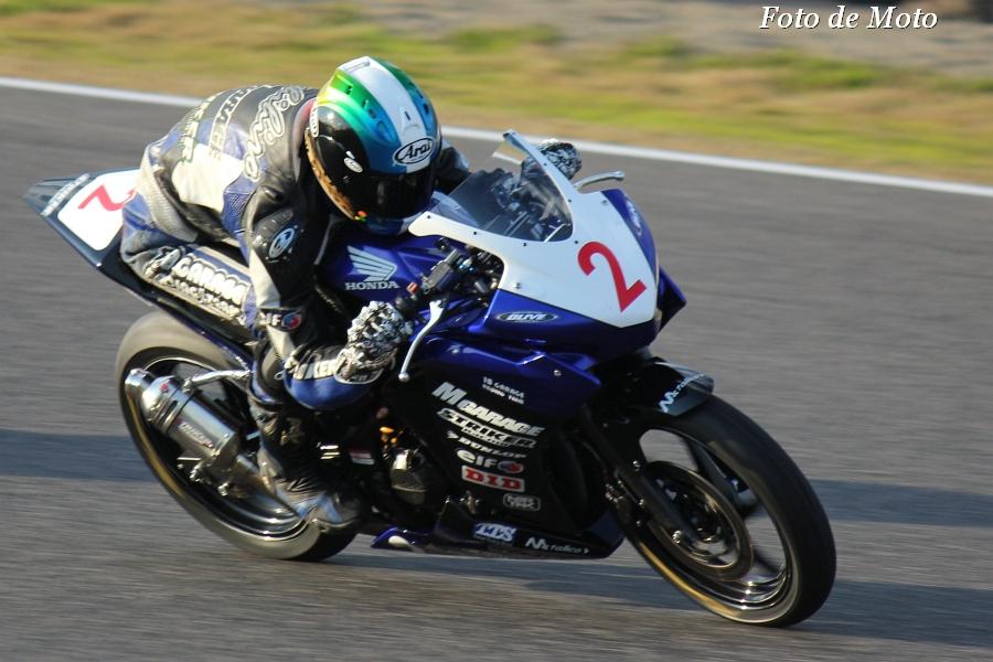 CBR250R #2 ストライカー&Mガレージ&18GARAGE 中沢 寿寛 Honda CBR250R