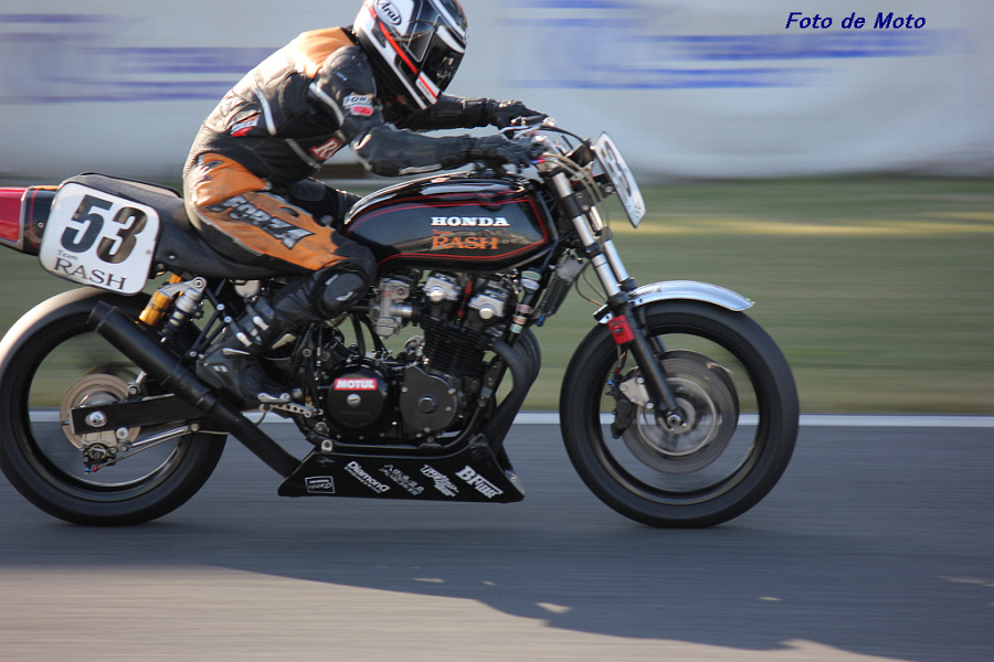MONSTER #53 TEAM-RASH 及川 繁 Honda CB750K
