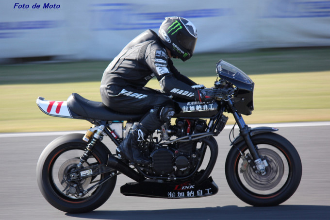 MONSTER-Evo. #11 LINK-RC 加納自工 佐藤 正治 Kawasaki Z2