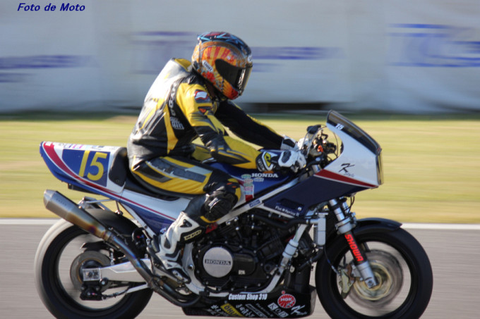 ZERO-1 #15 team K-STYLE 時貞 浩平 Honda VF750F