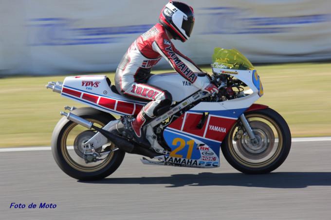ZERO-1 #21 カスタマーズレーシングPSC 常井 政春 Yamaha RZV500R