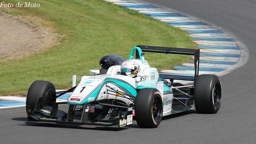 F3 #1 PETRONAS TOM'S F312 勝田 貴元 Katsuta Takamoto Dallara F312